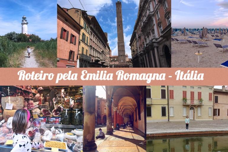 Roteiro na Emilia Romagna (Itália)