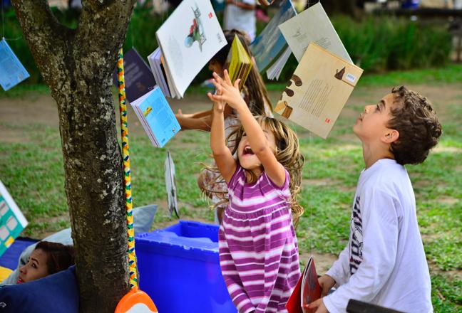 Flipinha: a Feira Literária para crianças em Paraty