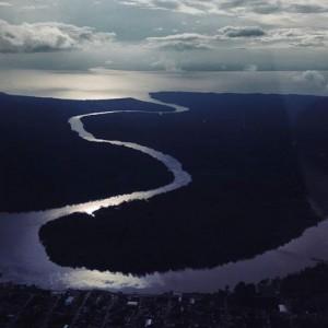Viajo com Filhos_Belém do Pará com Crianças_Vista avião