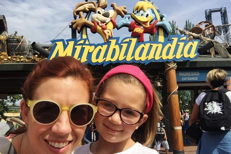 Mirabilandia, um parque de diversões na Itália