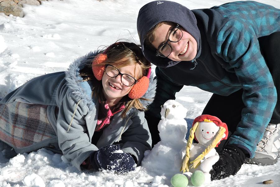 Pedacinho de neve