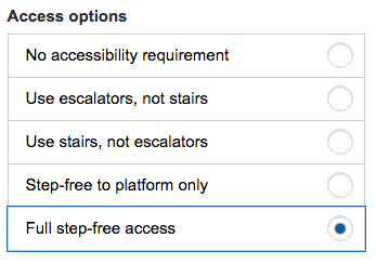 Access Options TLF