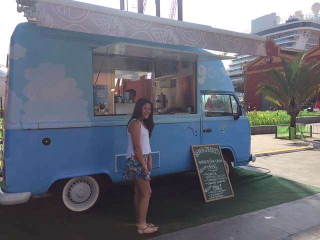 Food Truck da sorveteria Ben&Jerry