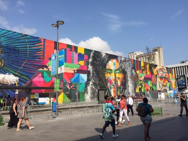 Boulevard Olímpico, a mais animada atração turística do Rio de Janeiro