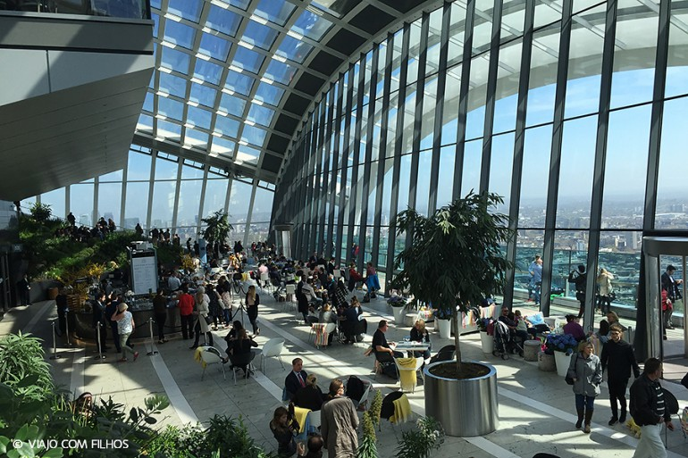 Sky Garden – Londres vista do alto
