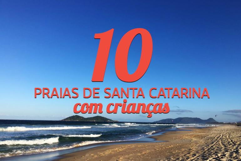 10 praias de Santa Catarina com crianças