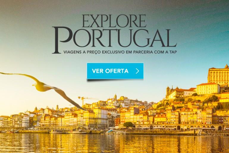 Explore Portugal – promoção de pacotes Zarpo