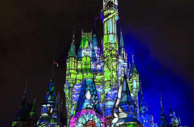 Novo show no castelo da Cinderela