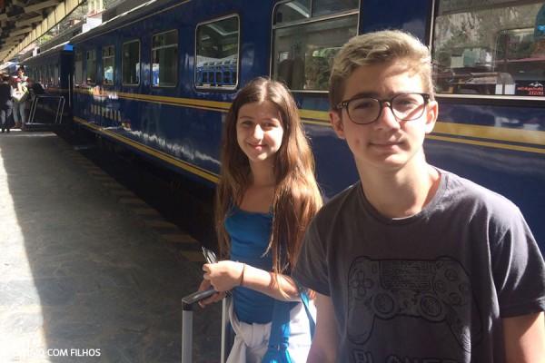 Trem Peru (Cusco - Aguas Calientes)