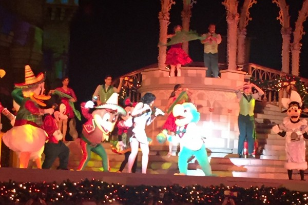 Zé Carioca no Mickey's Most Merriest Celebration