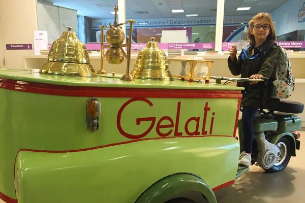 Carpigiani museum gelato