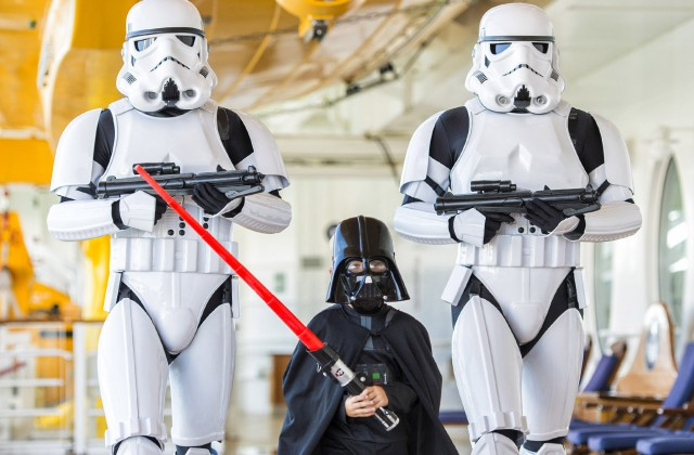 "Star Wars no cruzeiro da Disney, ""Star Wars Day at Sea"""