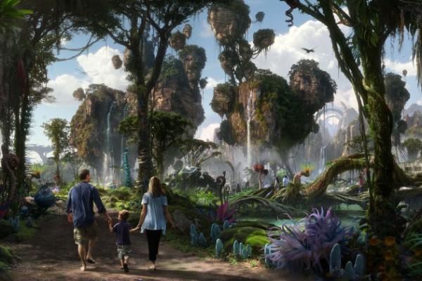 Avatar - Reino da Pandora na Disney