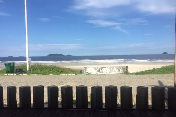 Praia de Itaguaçu, em São Francisco do Sul