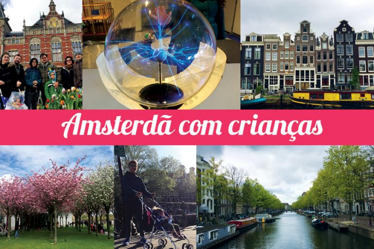 As melhores viagens com crianças: Amsterdã