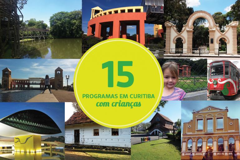 15 programas para fazer em Curitiba com as crianças