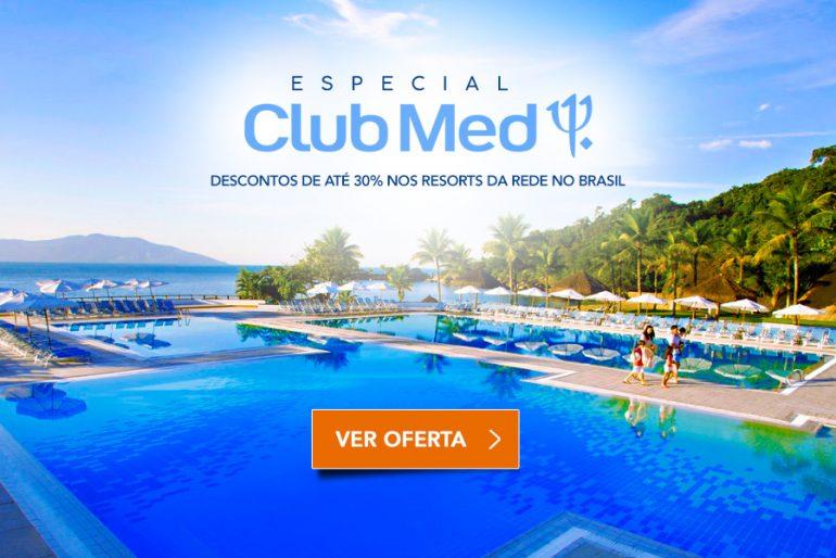 Promoção Club Med com descontos de ate 30%