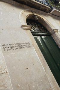 Fachada edifício onde morou Fernando Pessoa