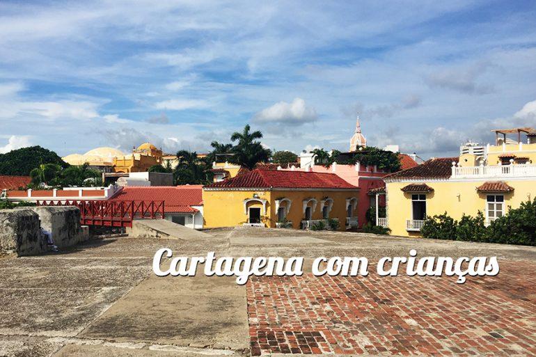 Cartagena com crianças
