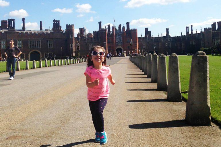 Londres com crianças: um castelo imperdível