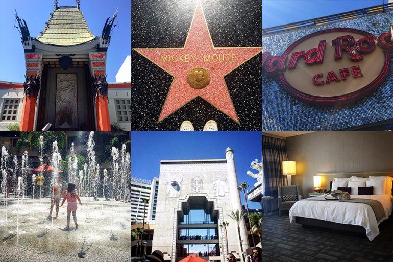 Hotel Loews em Hollywood com crianças