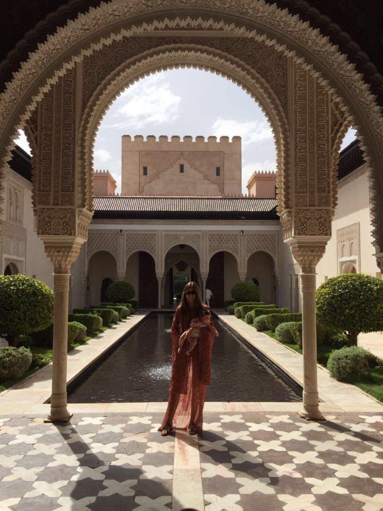 Marrakech com bebê