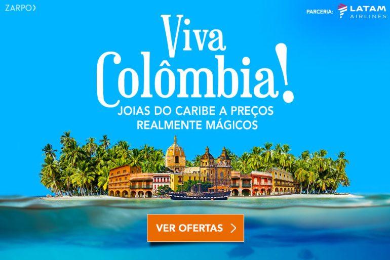 Viva Colômbia – pacotes com desconto no Zarpo