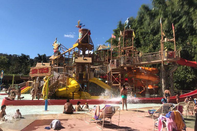 Rio Quente Hot Park e hotel