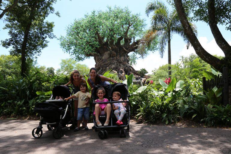 Aproveitar os parques da Disney com crianças pequenas