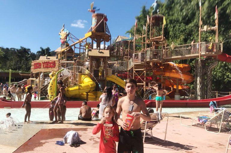 Rio Quente: Hot Park e hotel