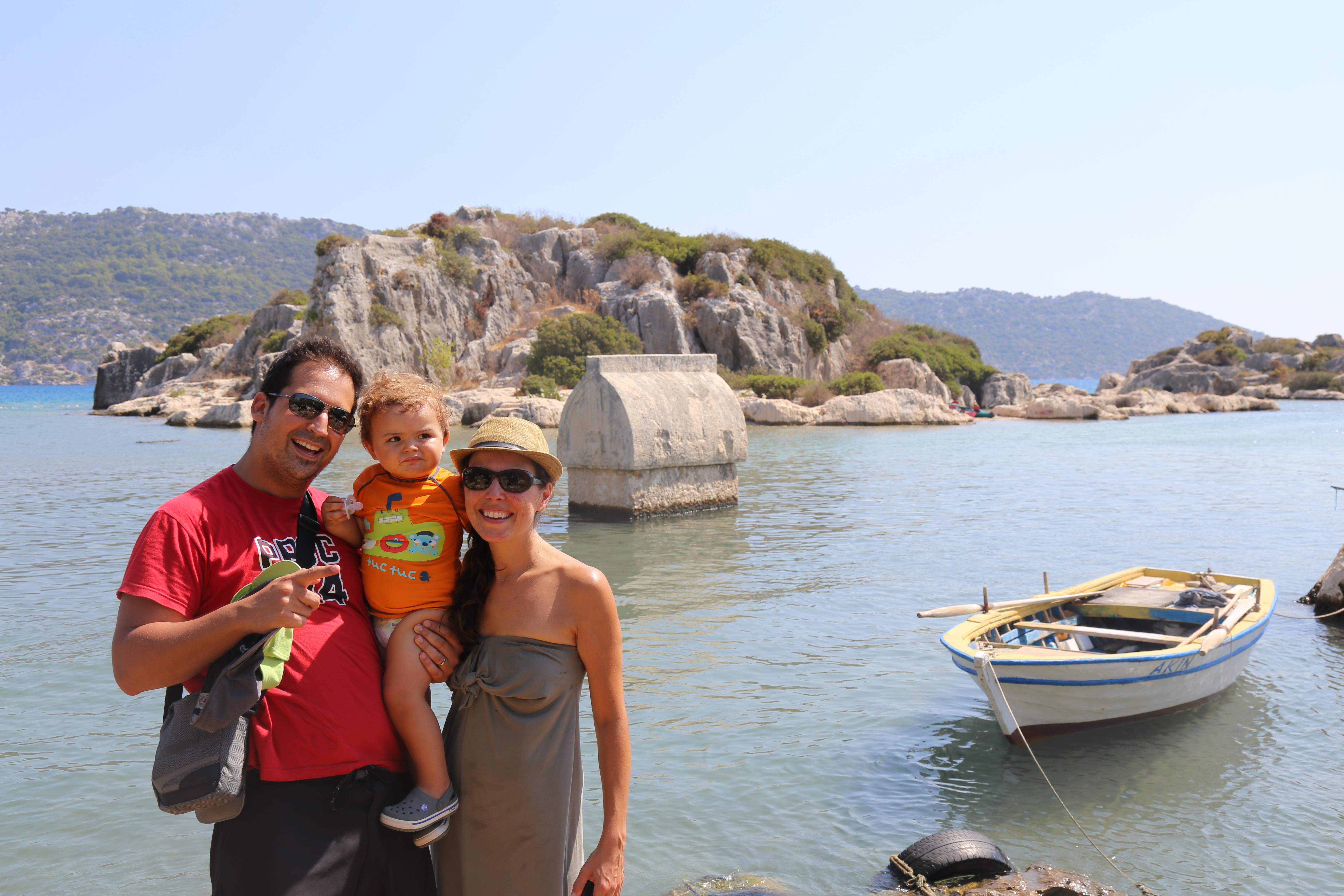 Turquia com crianças
