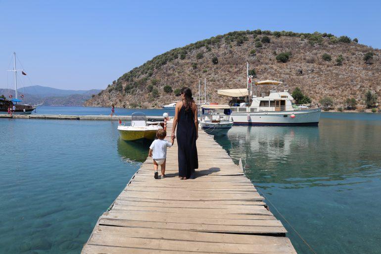 Sul da Turquia com crianças: de Antalya a Fethyie de carro