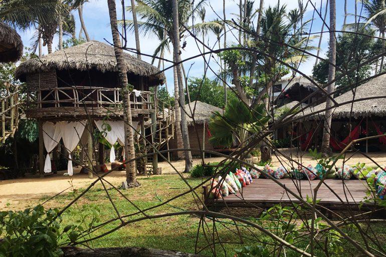 Jericoacoara com crianças e hotel Vila Kalango