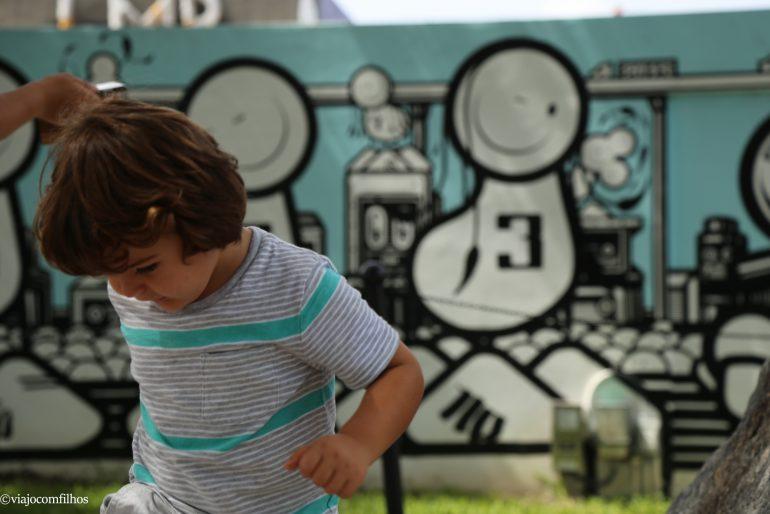 Miami com crianças: Wynwood Walls (Art District)
