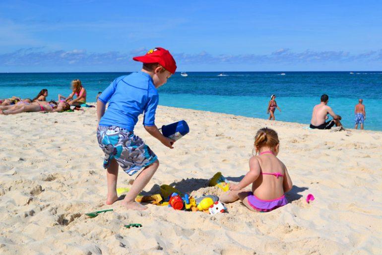 Bahamas com filhos