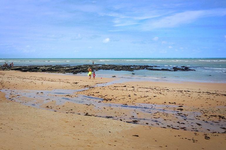 Praia da Pitinga (Arraial d'Ajuda – Bahia)