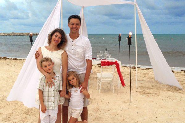 Cancun com filhos