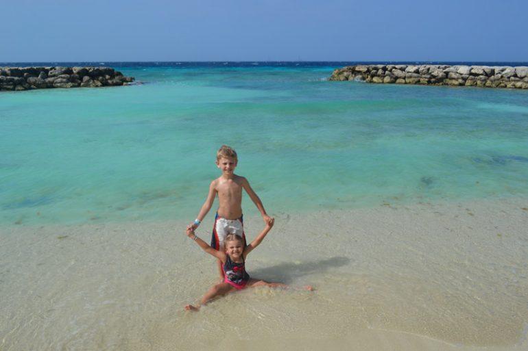 Aruba com filhos