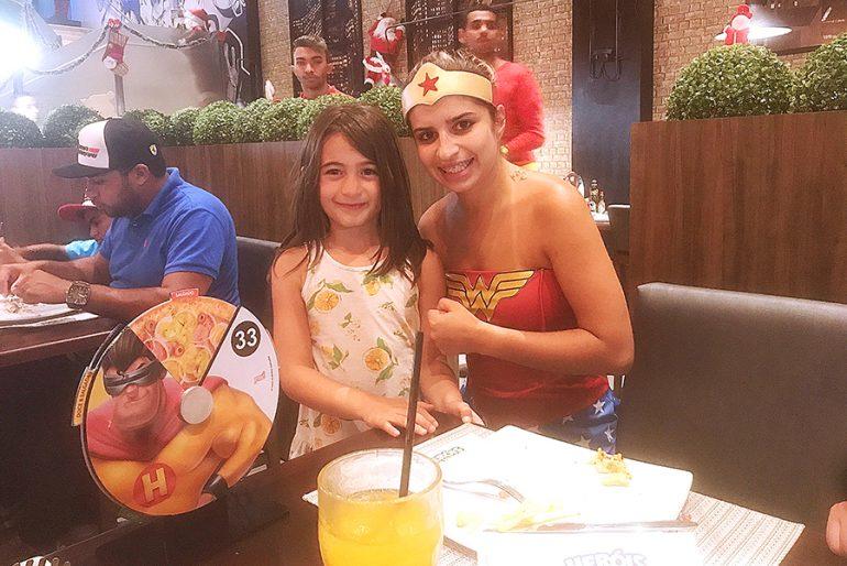 Pizzaria temática em Balneário Camboriú: Heróis da Pizza