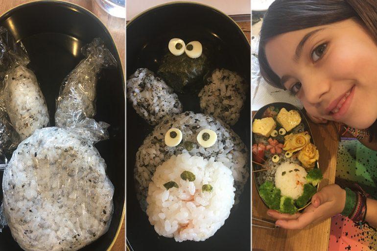 Japão com crianças: aprendendo a fazer um bentô de Totoro