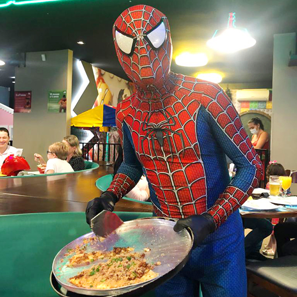 Heróis da pizza