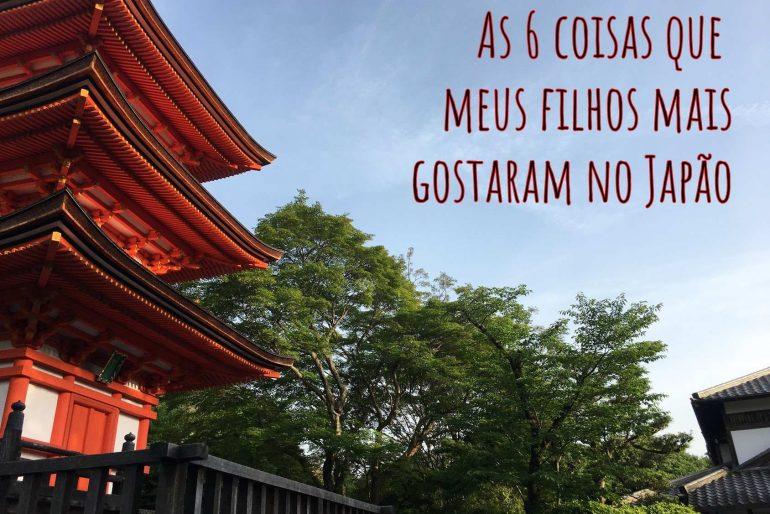 Japão com crianças: o que meus filhos mais gostaram