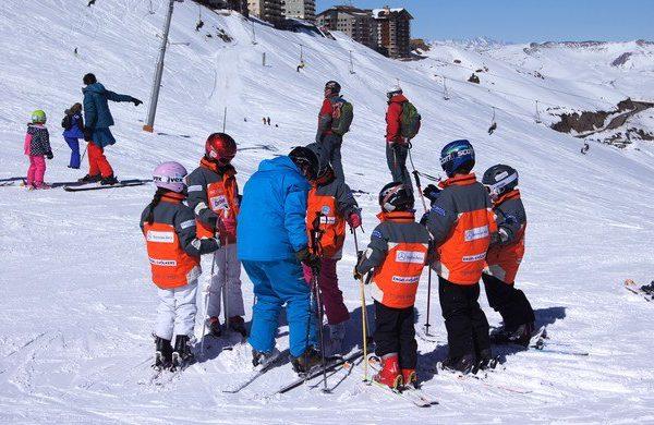 Criancas no Valle Nevado
