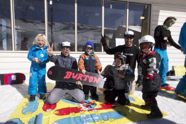 Crianças No Valle Nevado
