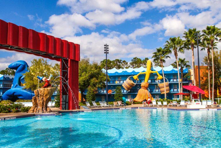Hotéis em Orlando com crianças