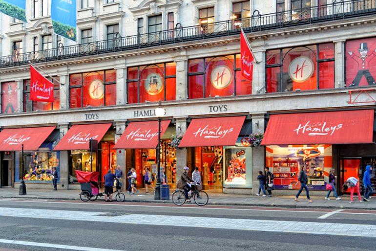 Hamleys: a maior loja de brinquedos de Londres