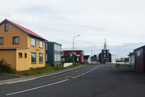 Vilarejo na Islândia
