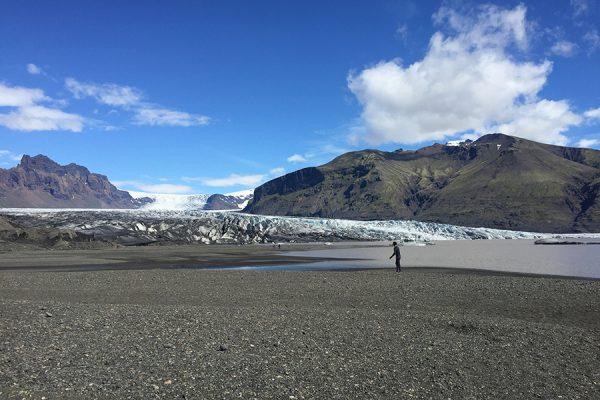 Roteiro na Islandia - geleiras
