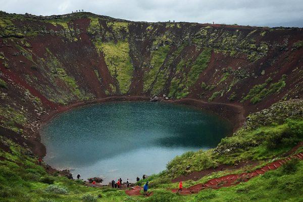 Roteiro na Islândia - Kerid