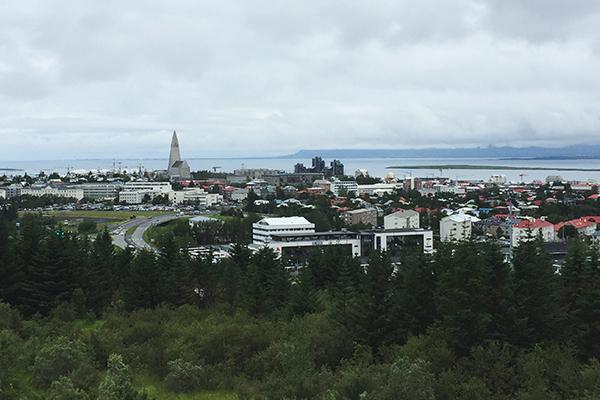 Perlan - vista do obsevatorio